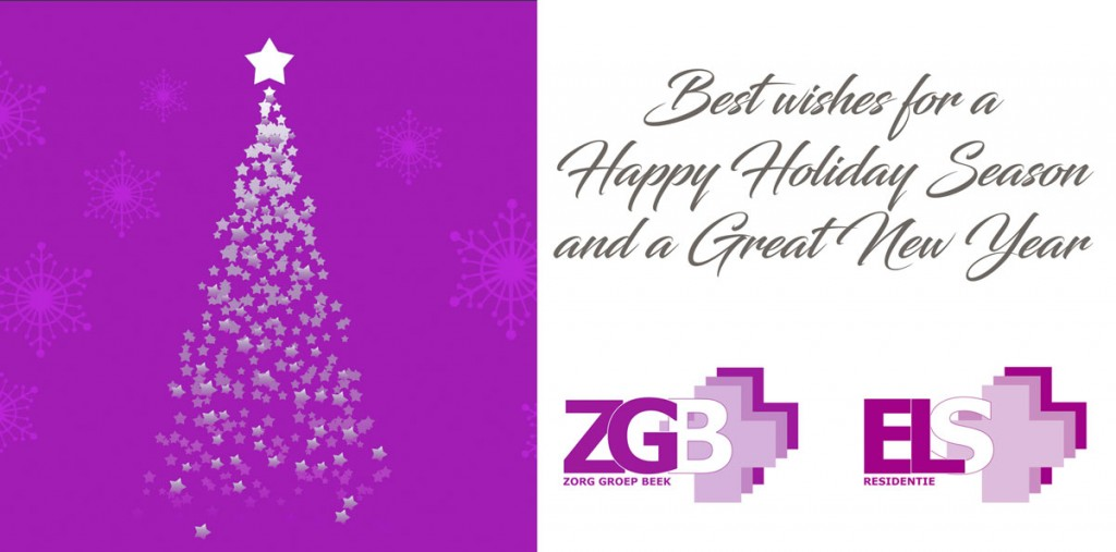 Zorg groep beek en Elsresidentie kerst en nieuwjaar
